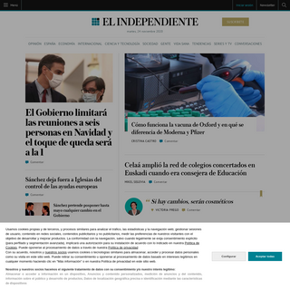 El Independiente - El diario digital global en español