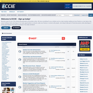 A complete backup of eccie.net