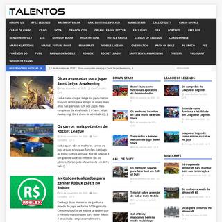i-Talentos - Dicas de games