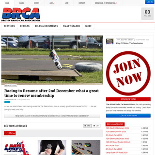 BRCA - British Radio Car Association is the UK`s governing body for radio controlled model car racing. Learn how you can be a me