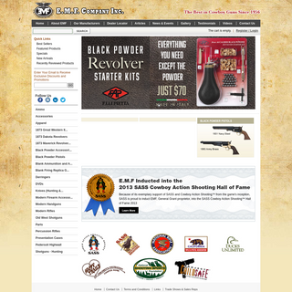 EMF Company, Early Modern Firearms Company - EMF Company - EMF Company, Inc.