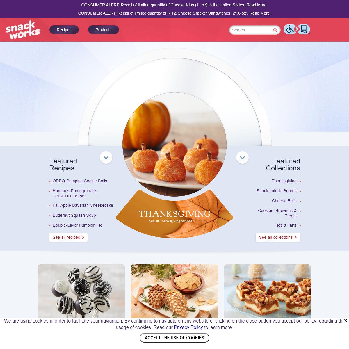 Delicious Appetizer, Dessert & Snack Recipes