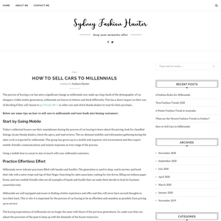 Sydney Fashion Hunter – A Travel & Lifestyle Blog