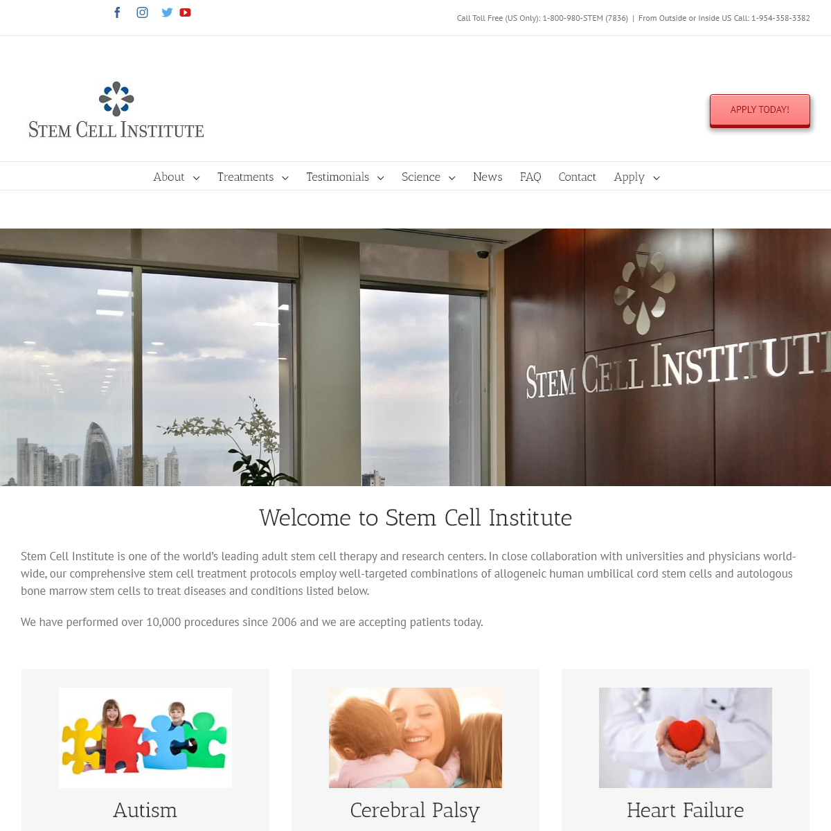 Stem Cell Institute Panama - Stem Cell Therapy - Stem Cell Institute
