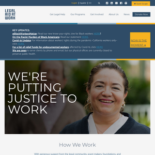 Legal Aid at Work – free legal services for workers