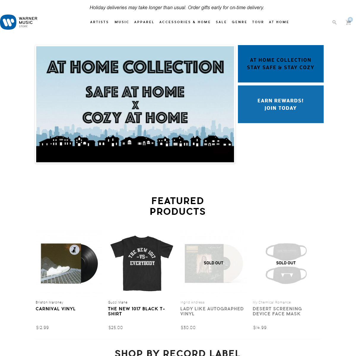 Warner Music Group Official Store