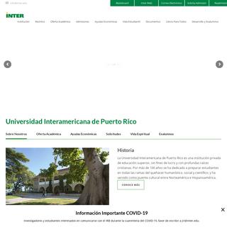 Universidad Interamericana de Puerto Rico – Universidad Interamericana de Puerto Rico