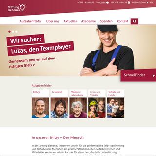 Stiftung Liebenau- In unserer Mitte - Der Mensch