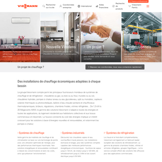 Viessmann - Chaudières et installations de chauffage économiques