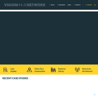 Vision Zero Network - Making our streets safer