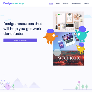 Design resources that will help you get things done faster - DesignYourWay
