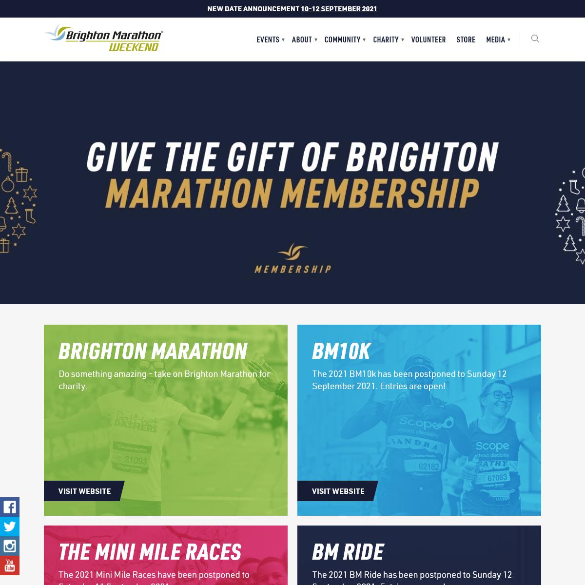 Home - Brighton Marathon Weekend