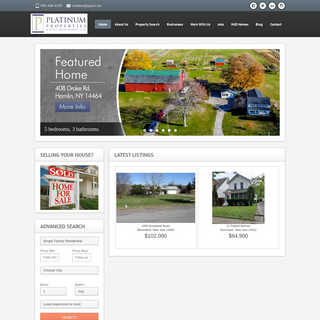 Realtors and Property Management in Rochester NY - Platinum Properties