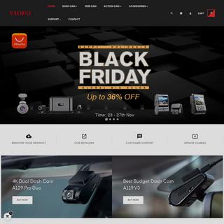 VIOFO Dash Cams - Best Video Quality Dash Cam - 4K Dash Cameras