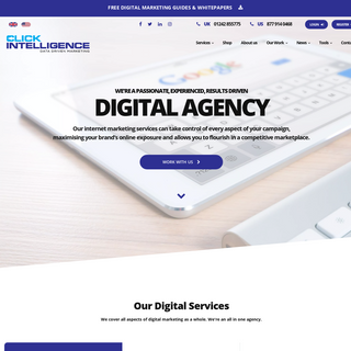 Search Marketing Agency - SEO, Paid Social & PPC - Click Intelligence