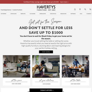 Havertys - Furniture, Custom Décor, Free Design Services
