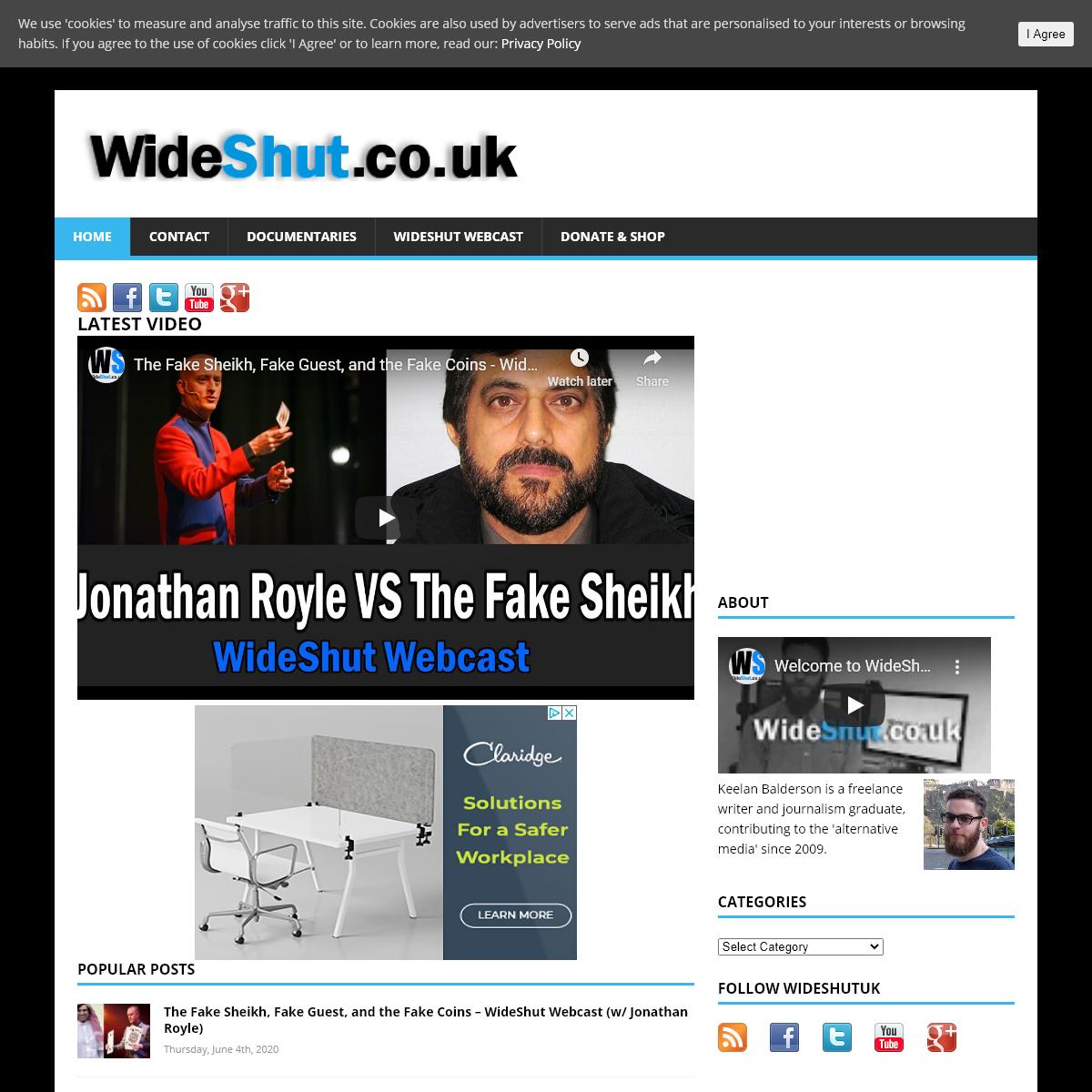 WideShut.co.uk- Alternative News and Views