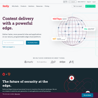 Fastly - The edge cloud platform behind the best of the web - Fastly