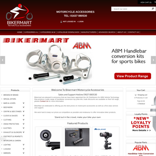 Bikermart Motorcycle and Streetfighter Products based in the UK