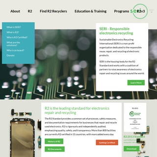 SERI - Sustainable Electronics Recycling International