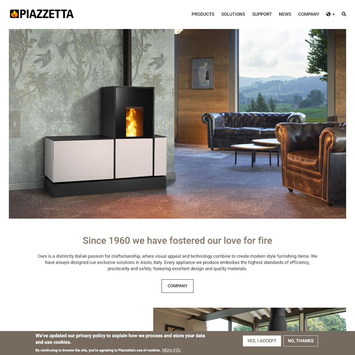 Fireplaces and Stoves - Piazzetta