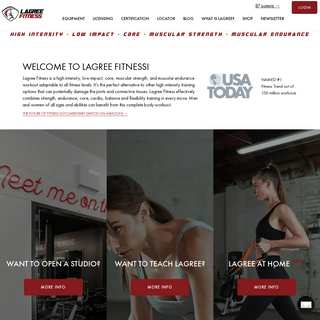 Lagree Fitness - The Only Patented Workout in Los Angeles