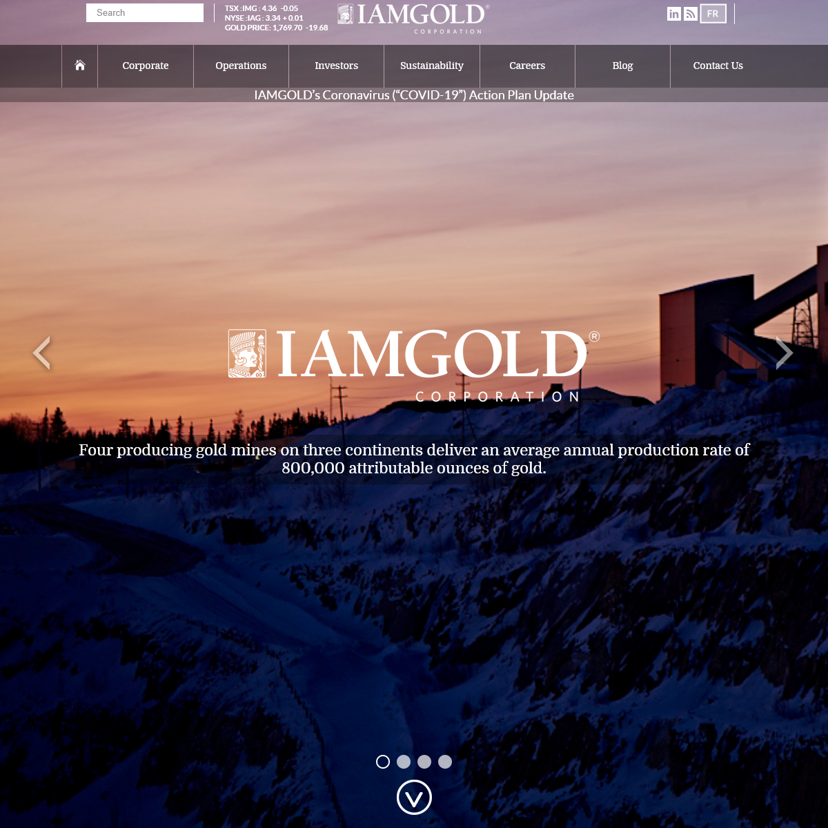 IAMGOLD Corporation - Home