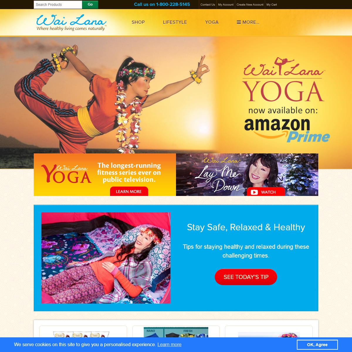 Wai Lana - Where healthy living comes naturally – Official Site