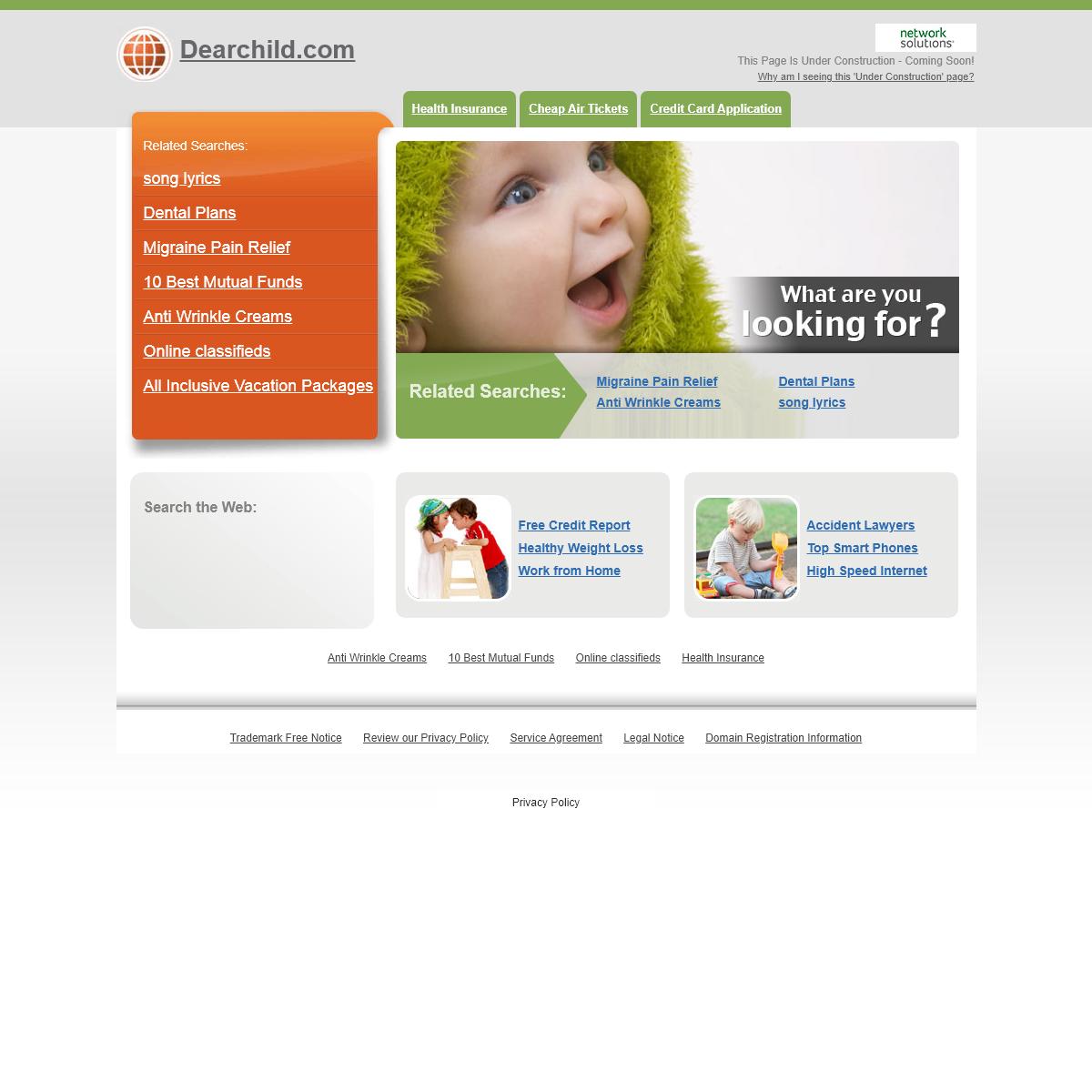 Dearchild.com