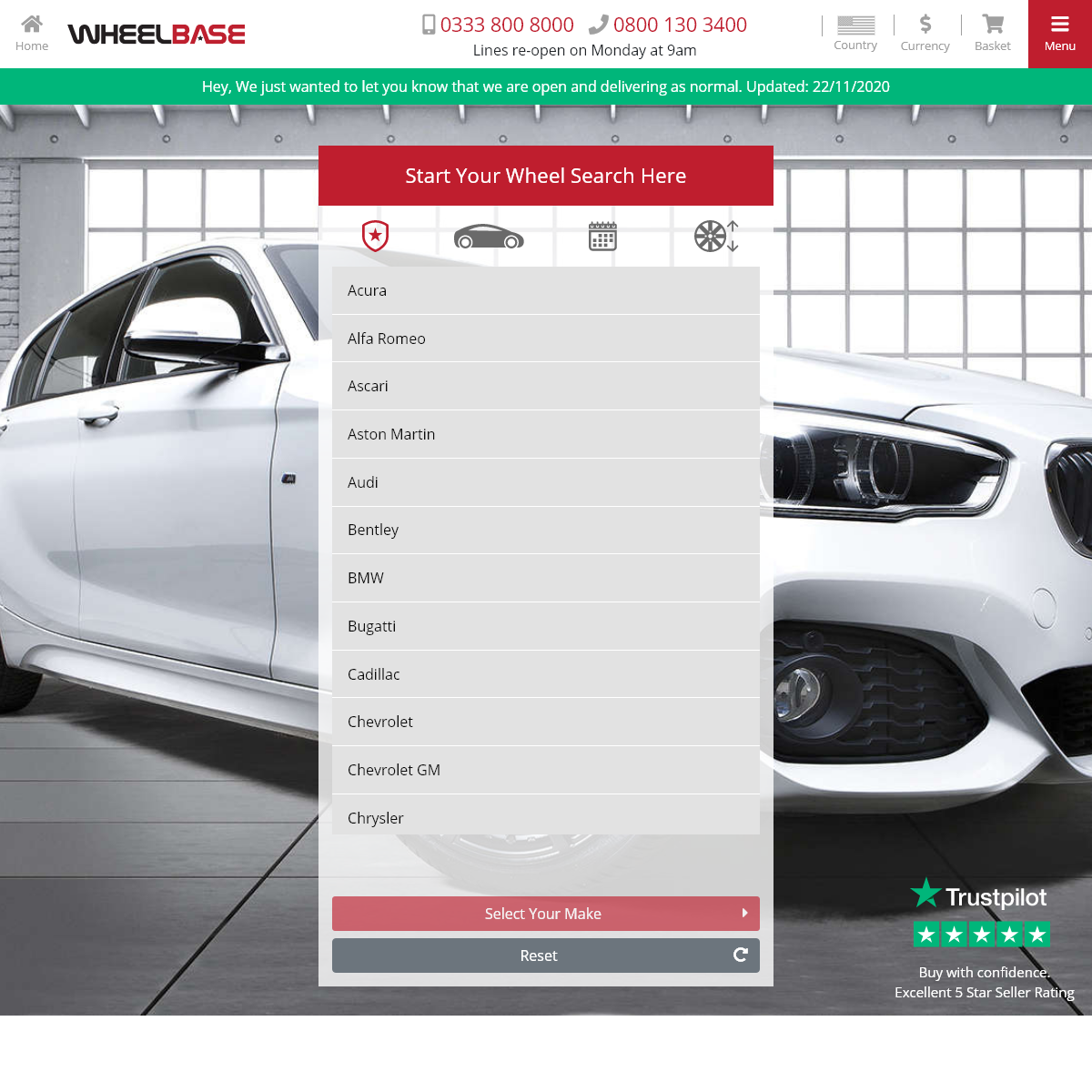 Alloy Wheels & Performance Tyres - Buy Alloys at Wheelbase