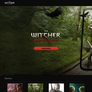 thewitcher.com - Home of the The Witcher games