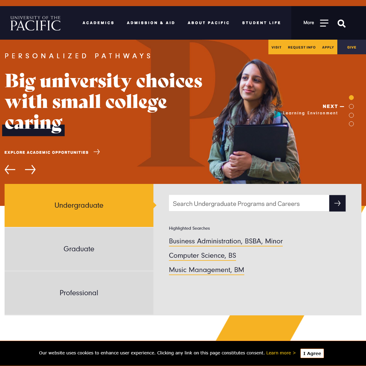 University of the Pacific - Experience-driven Education