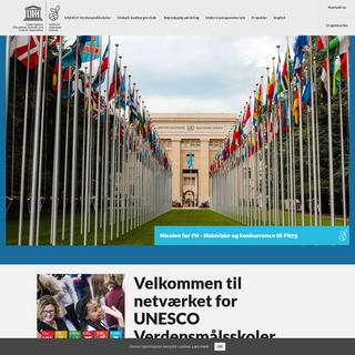 UNESCO ASP - netværket for UNESCO Verdensmålsskoler