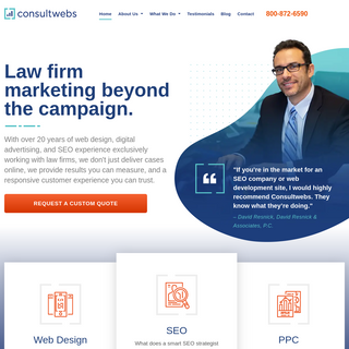 Law Firm Marketing- Web Design, Digital Advertising, SEO for lawyers