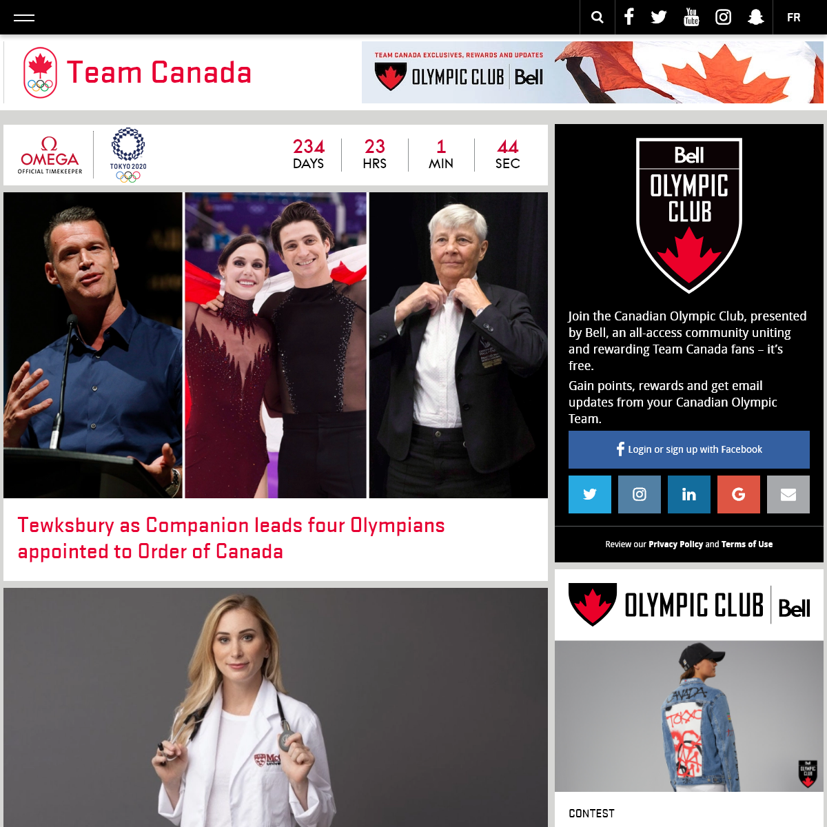Team Canada - Official Olympic Team Website - Official home of Team Canada. Discover athlete stories as well as Olympic rosters,
