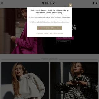 Damenmode jetzt online bestellen - MADELEINE Mode