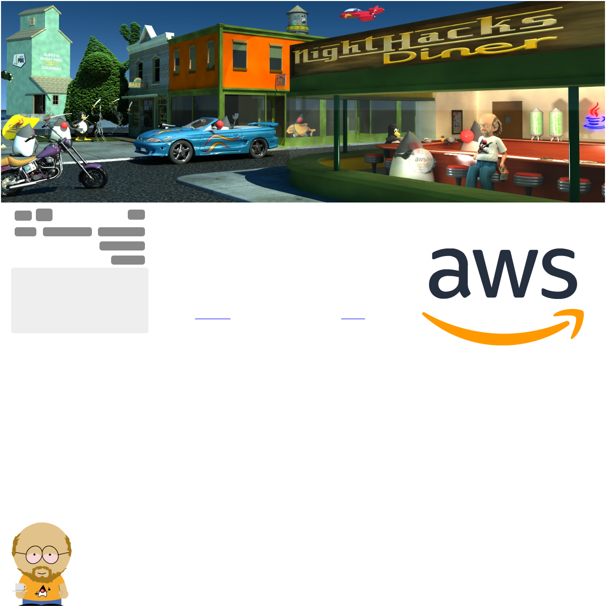 Made the leap to Amazon Web Services!