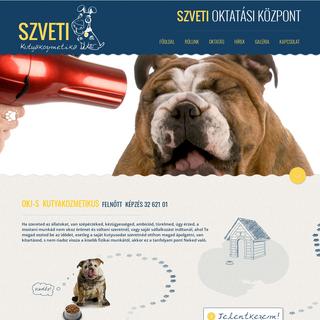 Kutyakozmetikus felnőtt képzés - Kutyakozmetikus tanfolyam