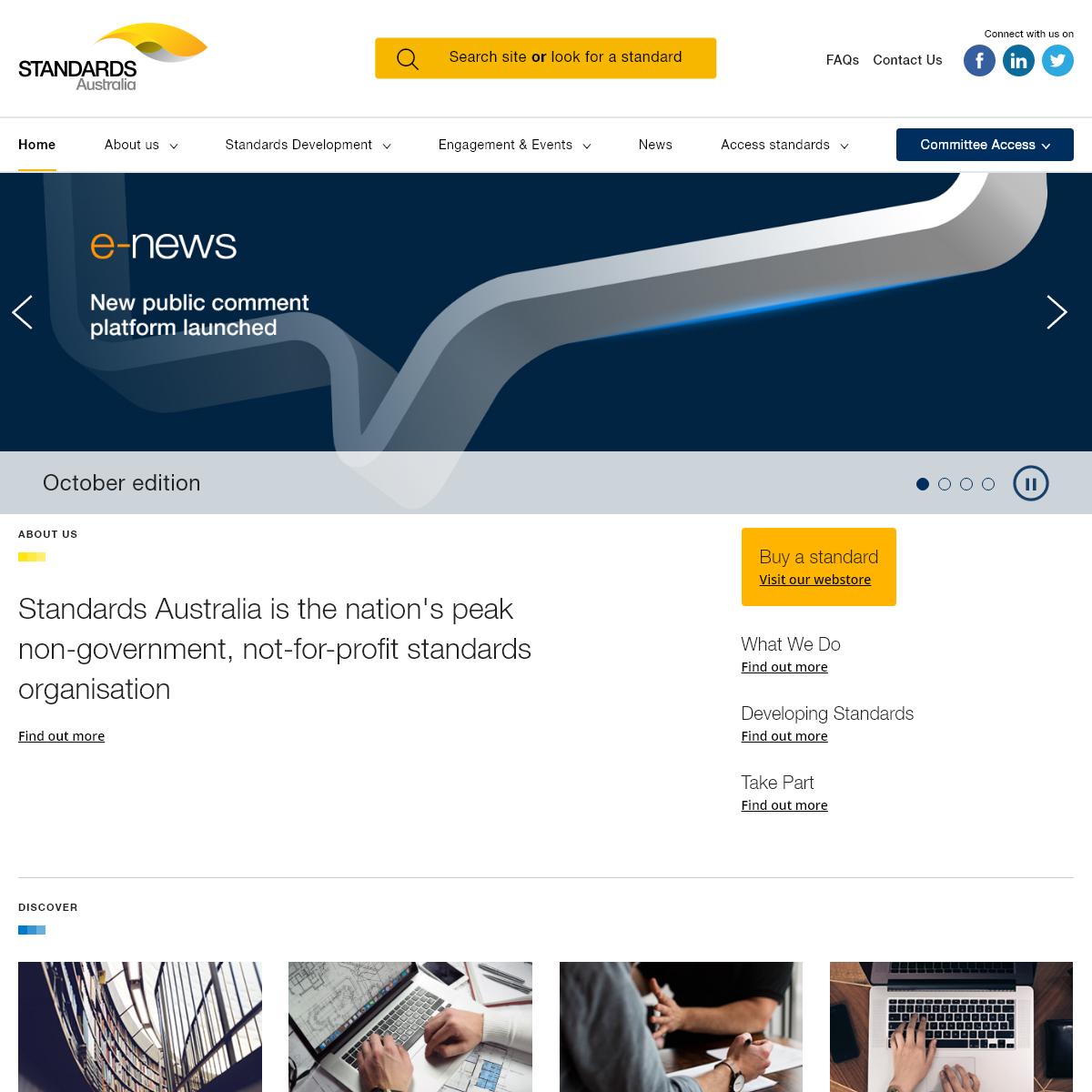 Standards Australia - Standard Organisation in Australia