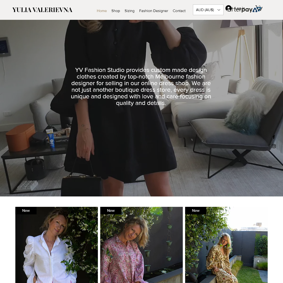 Fancy Dress Store - YV Fashion Studio - Australia