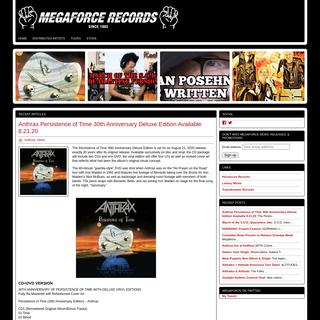 Megaforce Records - Megaforce Records