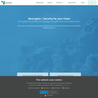 Encryption software to secure cloud files - Boxcryptor