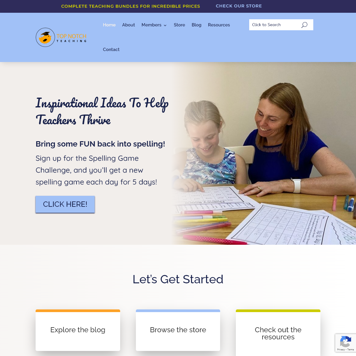Home - Top Notch Teaching