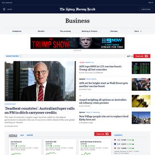 Business - Economy, Finance & ASX Market News - The Sydney Morning Herald