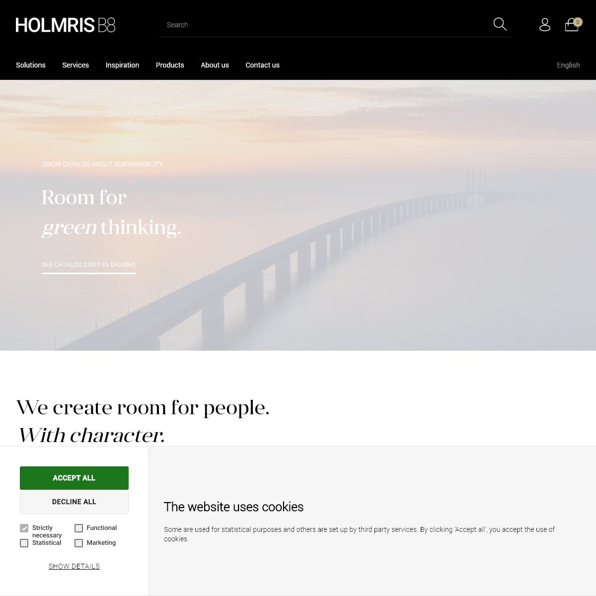 HOLMRIS B8 – We create room for people. With character.