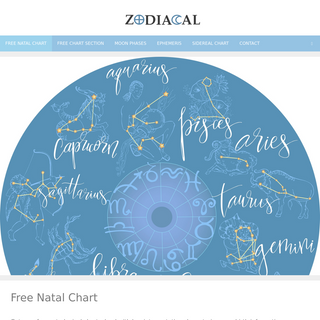 Zodiacal – For Astrology Enthusiasts