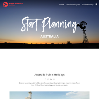 Australia Public Holidays - PublicHolidays.com.au