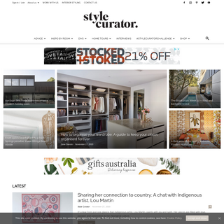 Style Curator - Home tours, DIYs, interior styling inspiration, renovation