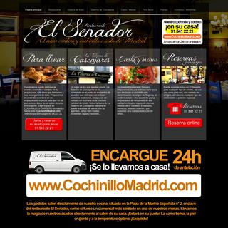 Asador - Restaurante Asador Madrid - Cochinillo Madrid - Cochinillo Asado - Cordero asado en Madrid -
