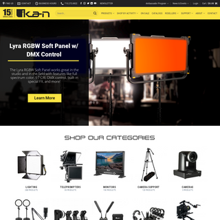 Professional Video Production Equipment & Accessories - Ikan